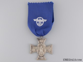 A Police Long Service Cross; 2nd Class