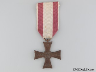 A Polish Cross of Valour; Type IV