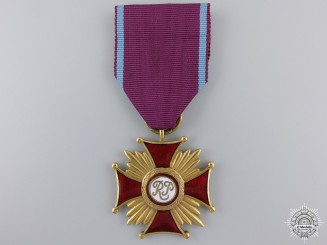 A Polish Merit Cross; First Class