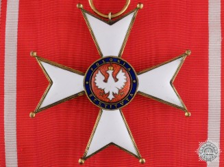 A Polish Order of Polonia Restituta; Grand Cross