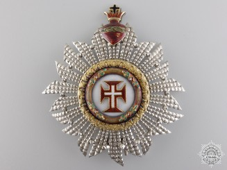 Portugal, Kingdom. A Military Order of Christ, Grand Cross Star, c.1875