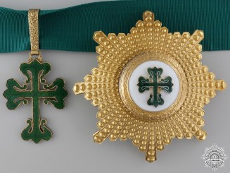 A Portuguese Military Order of Aviz; Grand Officer