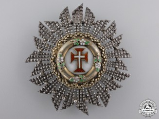 Portugal, Kingdom. A Military Order of the Christ, Breast Star, c.1910