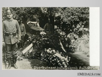 A Post Card – Immelmann's Burial