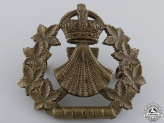 A Pre First War 44th Lincoln and Welland Regiment Cap Badge