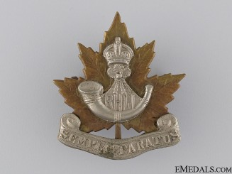 Canada. A Pre Second War Royal Hamilton Light Infantry Cap Badge