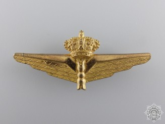 A Pre Second War Italian Observer's Badge