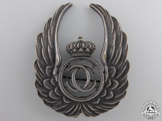 Romania, Kingdom. An Air Force Observer Badge, c.1935