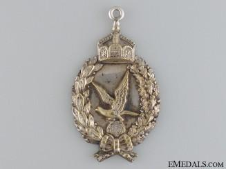 A Prussian Air Gunner Badge, Prinzen Size & Engraved