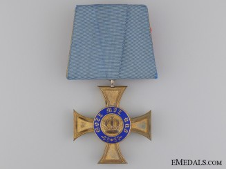 A Prussian Order of the Crown; Fourth Class by Brothers Friedländer