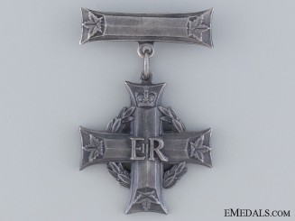 A Queen Elizabeth II Canadian Memorial Cross