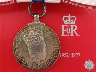 A Queen Elizabeth II's Silver Jubilee Medal 1952-1977; Ladies