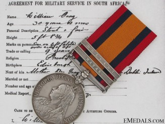 A Queen's South Africa to Lord Strathcona's Horse