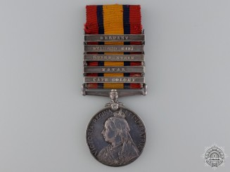 A Queen's South Africa Medal to the West Surrey Regiment