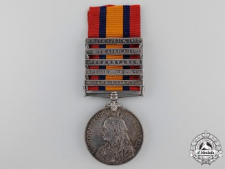 Canada, Dominion. A Queen's South Africa Medal to the Canadian Scouts