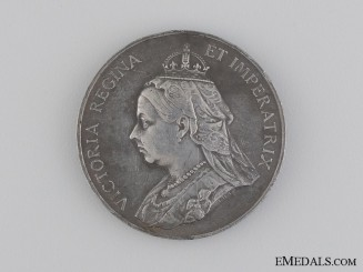 A Queen Victoria Diamond Jubilee Commemorative Medal 1837-1897