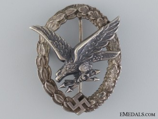 A Radio Operator & Air Gunner Badge by B&NL
