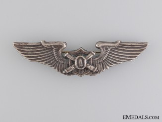 United States. An Unofficial Observer or Liaison Wings Badge, China Theatre Made
