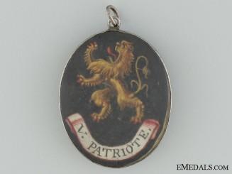 A Rare Belgian Napoleonic Patriotic Medal c.1800