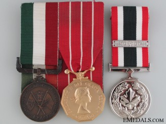 A Rare Canadian Vietnam War ICSC Medal Group