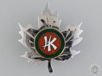 A Rare Canadian Hong Kong Serviceman's Sweetheart Pin