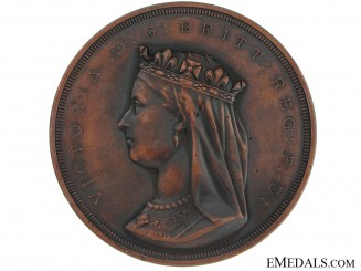 A Rare Confederation Commemorative Table Medal 1867