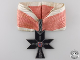 Croatia, Independent State. An Order of the Iron Trefoil, I Class, c.1941