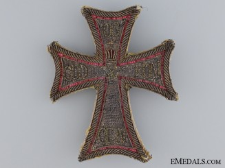 Denmark, Kingdom. An Order of the Dannebrog, Embroidered Star, c.1830