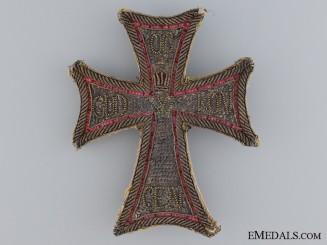 Denmark, Kingdom. An Order of the Dannebrog, Embroidered Star, c.1830