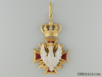 A Rare Ecclesiastical Order of White Eagle