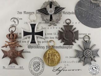 Germany. A Rare German Aero-Modelers Association Badge & Awards
