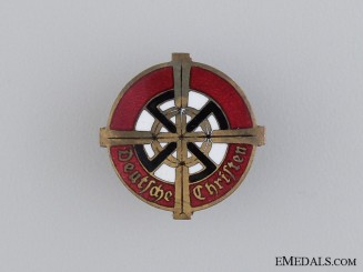 A Rare German Christian Church Membership Badge by Willi Merten