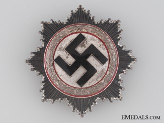 A Rare German Cross in Silver by Zimmermann