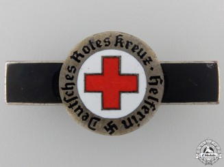 A Rare German Red Cross Volunteer Broach