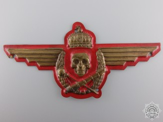 A Rare Hungarian Artillery Badge