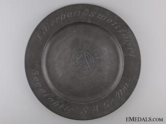 A Rare July 1939 SA Marine Expedition Plate