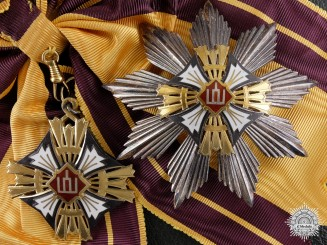 A Rare Lithuanian Order of the Grandduke Gediminas; First Class