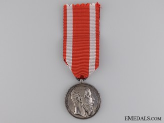 A Rare Mexican Military Merit Medal