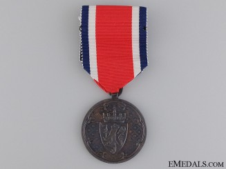 A Rare Norwegian Korea Medal