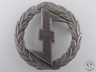 A Rare NSB Weer Afdeelingen Sports Badge; Silver Grade