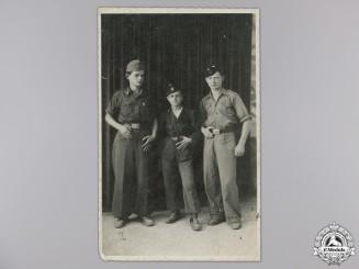 A Rare Photograph of Croatian Ustasha Youth