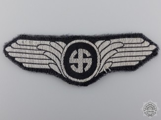 A Rare Uniform Removed Danish Schalburg Corps Cloth Insignia