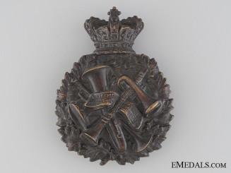A Rare Victorian Bandsman Cap Badge