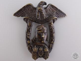 A Rare Wiener Neustadt Flying School Graduate Badge