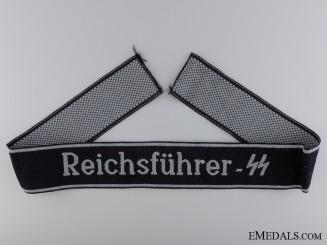 A Reichsführer-SS Personnel Cufftitle