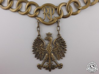 Poland, Republic. A Government Official's Collar Chain, c.1956