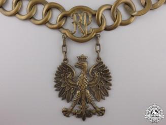 Poland, Republic. A Government Official's Collar Chain, c.1956