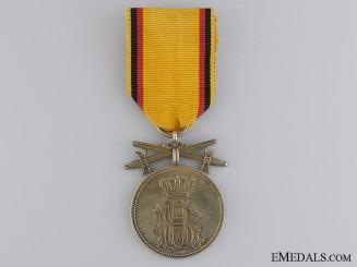 A First War Reuss Merit Medal; Gold Grade