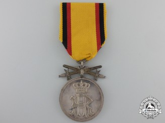 A Reuss Silver Merit Medal of the Honour Cross