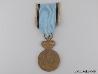 A Romanian King Carol I Centennial Medal 1839-1939
